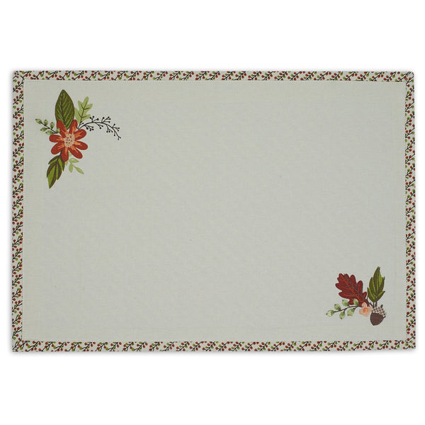 Fall in Love Embellished Placemat - DII Design Imports