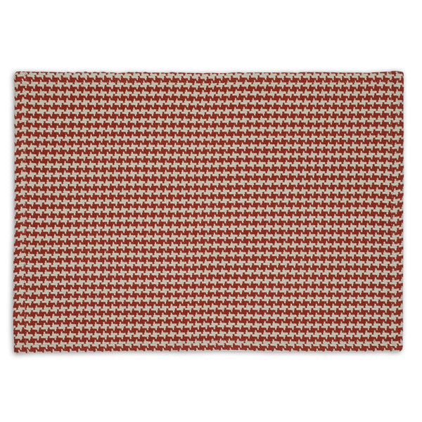 Wholesale Pumpkin Houndstooth Placemat - DII Design Imports