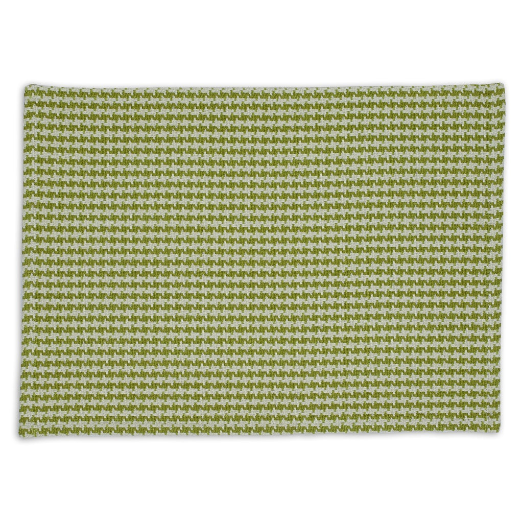 Fennel Houndstooth Placemat - DII Design Imports