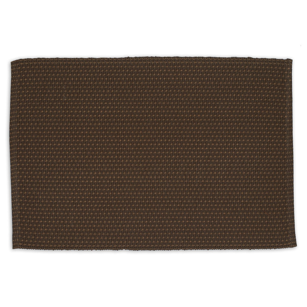Coffee Bean Dobby Stripe Placemat - DII Design Imports