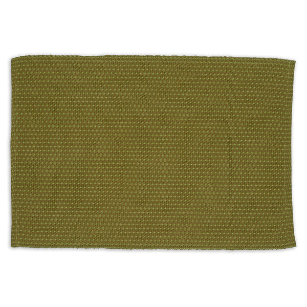 Wholesale Mossy Green Stripe Placemat - DII Design Imports