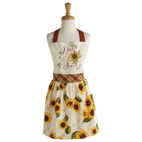 Wholesale Rise & Shine Printed Apron - DII Design Imports