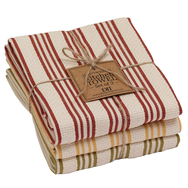 Wholesale Harvest Heavyweight Dishtowel Set - DII Design Imports