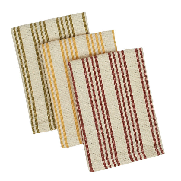 Wholesale Harvest Heavyweight Dishcloth Set - DII Design Imports