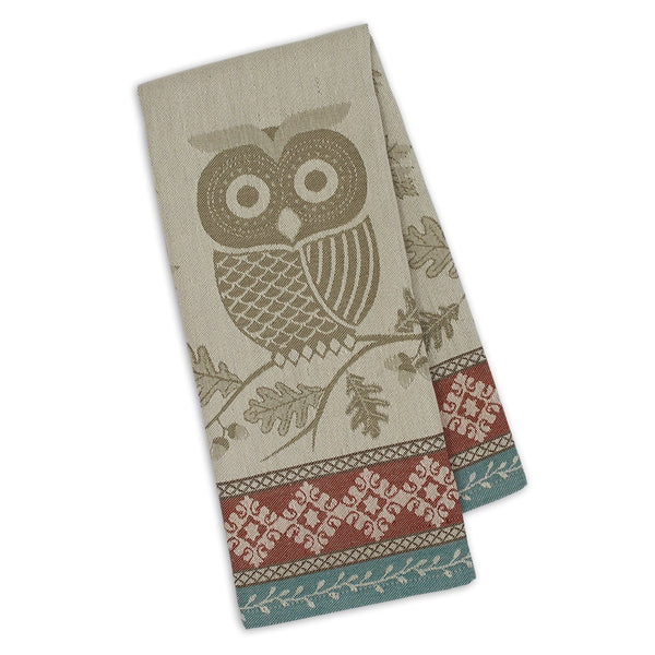 Wholesale Oak & Owl Jacquard Dishtowel - DII Design Imports