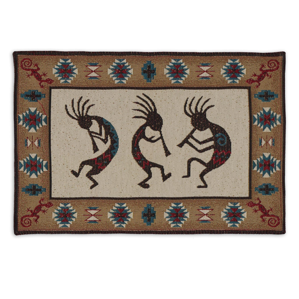 Kokkpelli Tapestry Placemat - DII Design Imports