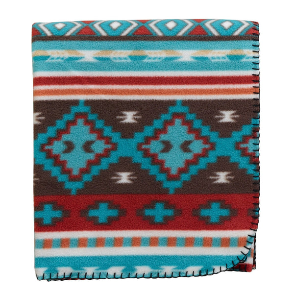 Rio Grande Stripe Fleece Throw - DII Design Imports