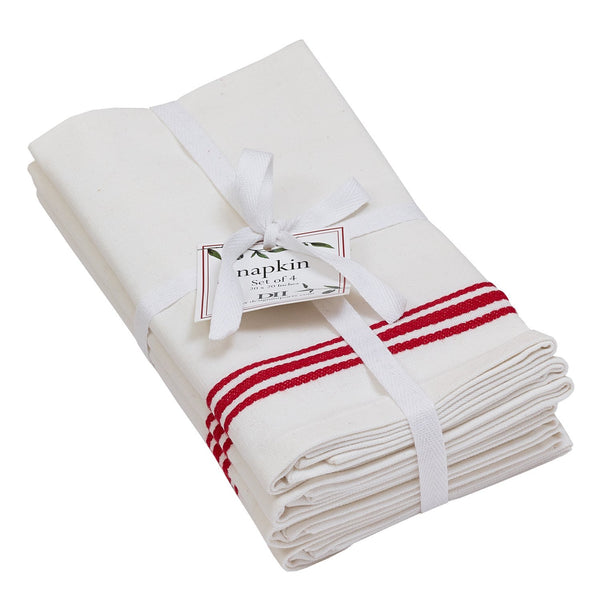 Wholesale Bistro Stripe Napkin Set - DII Design Imports