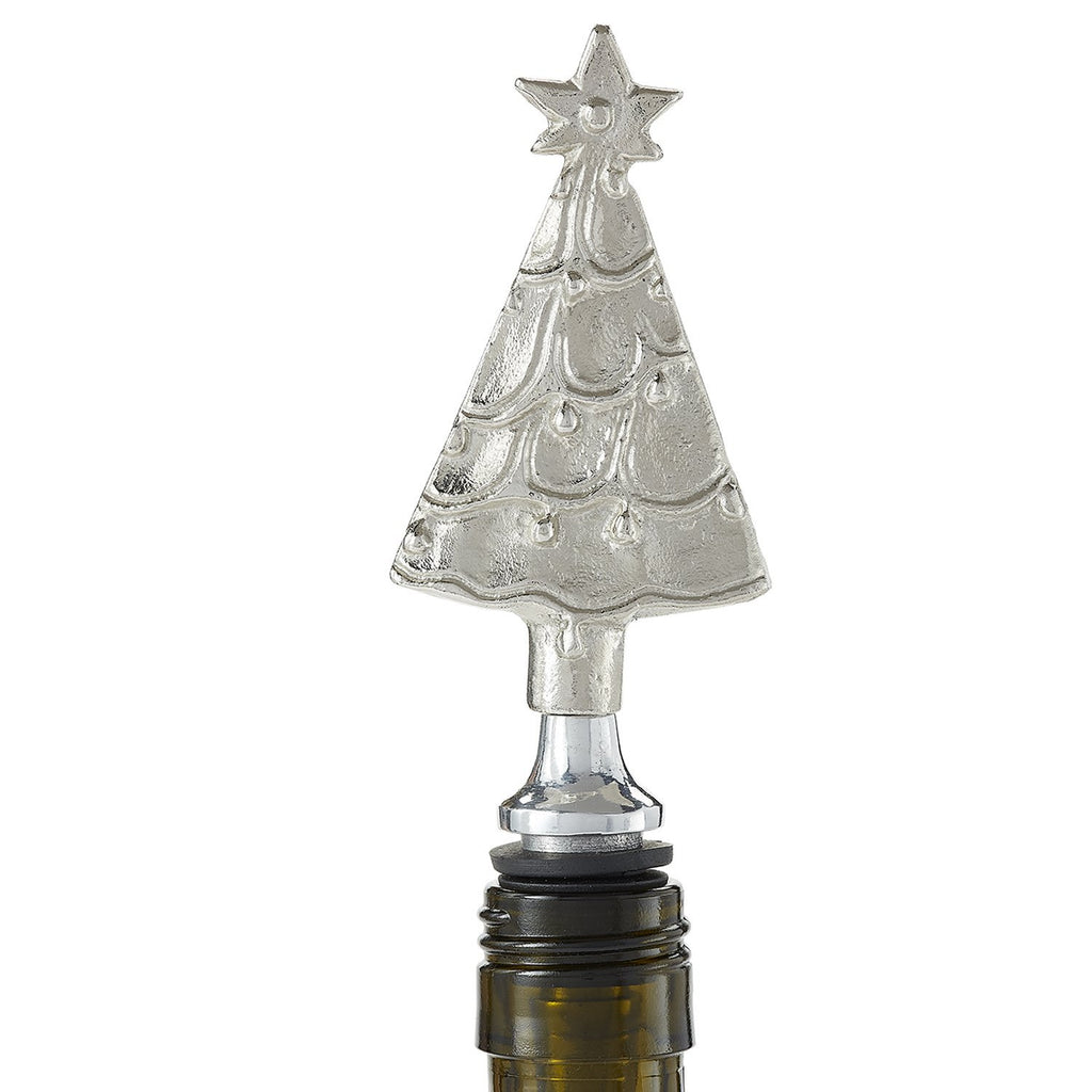 Christmas Tree Bottle Stopper - DII Design Imports