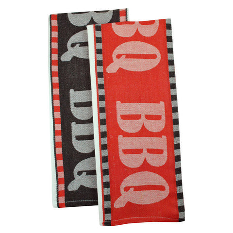 Wholesale - BBQ Jacquard Dishtowels - DII Design Imports