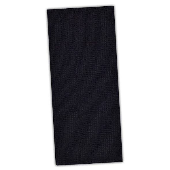 Wholesale - Black Waffle Dishtowel - DII Design Imports