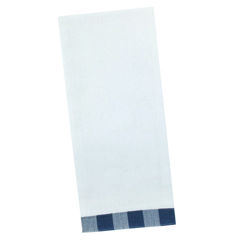 Wholesale - Navy Vintage Check Kitchen Towel - DII Design Imports