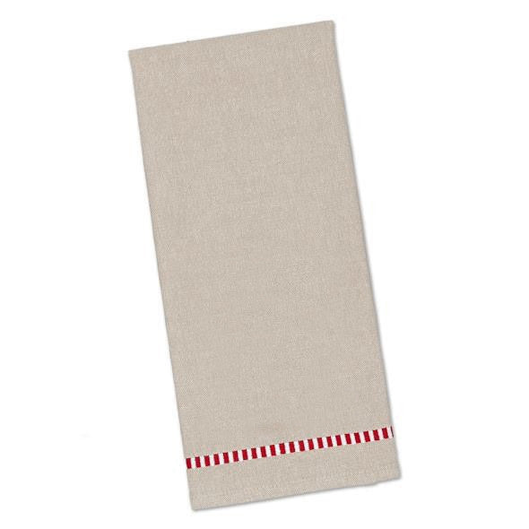 Wholesale - Natural Dobby Stripe Dishtowel - DII Design Imports