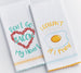 Wholesale Bacon My Heart Dishtowel Mixed Dozen - DII Design Imports