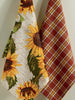 Rustic Sunflower Dishtowel Set of 2 - DII Design Imports