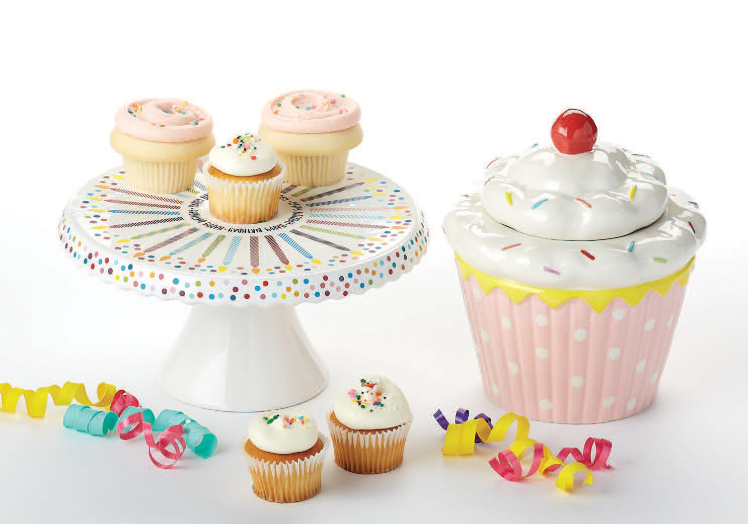 Happy Birthday Cake Stand DII Design Imports