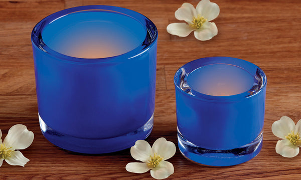 Wholesale - Cobalt Tea Light Candle Holder - DII Design Imports - 3