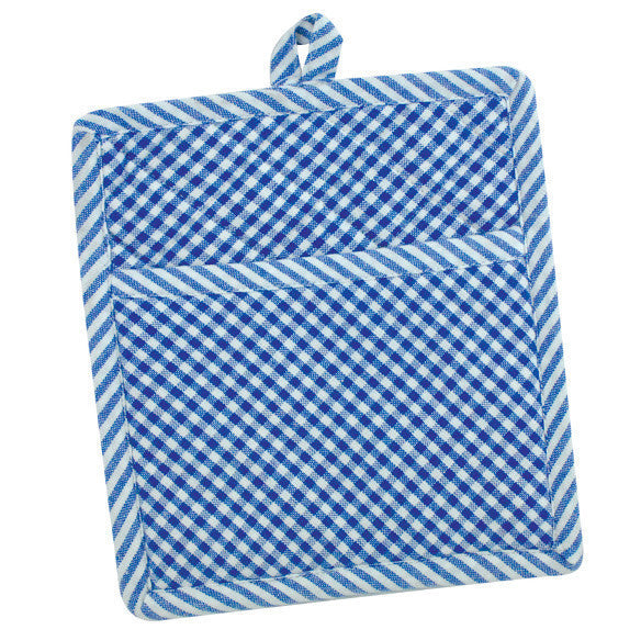 French Blue Chef Stripe Potholder - DII Design Imports