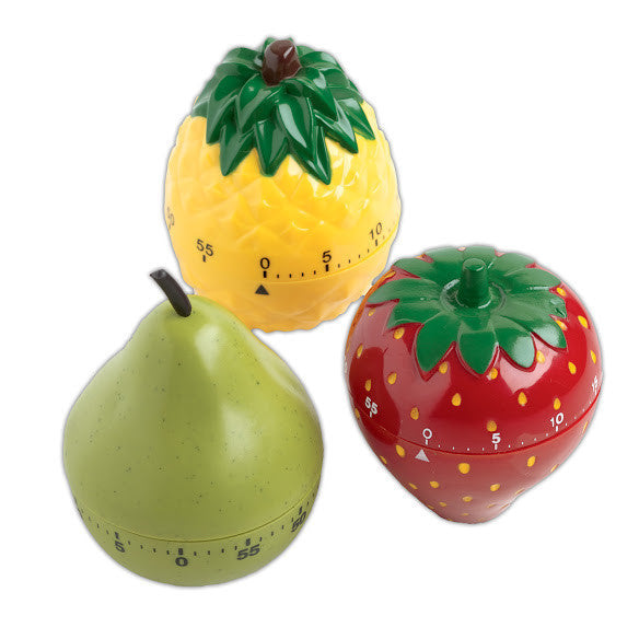 Fruits Kitchen Timers - DII Design Imports