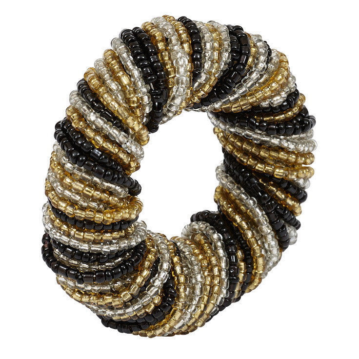 Glass Beaded Napkin Ring - DII Design Imports