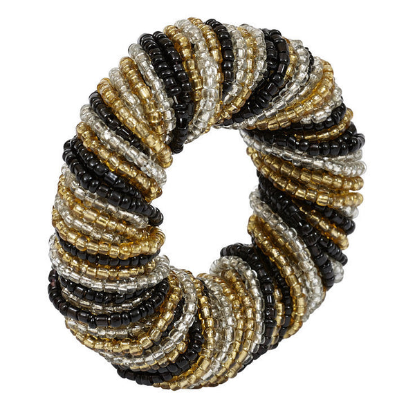 Wholesale - Glass Beaded Napkin Ring - DII Design Imports - 1