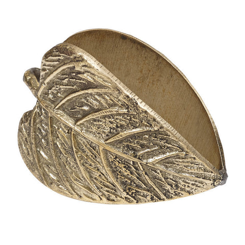 Wholesale - Leaf Napkin Ring - DII Design Imports - 1