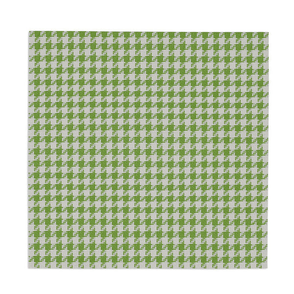 Wholesale - Lime Zest and White Houndstooth Placemat - DII Design Imports - 1