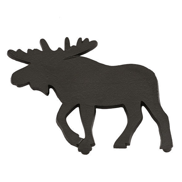 Moose Black Cast Iron Trivet - DII Design Imports