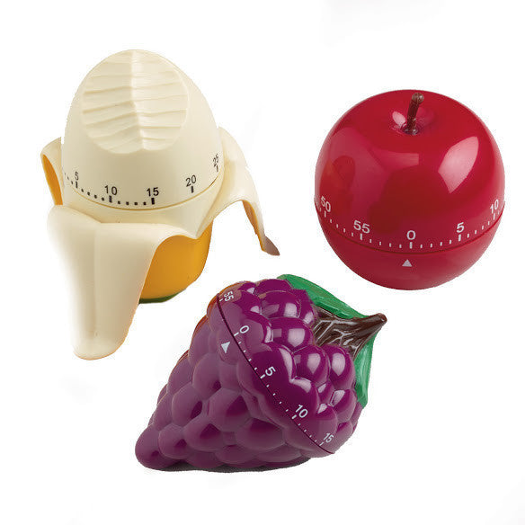 Wholesale - NEW Fruit Kitchen Timers - DII Design Imports