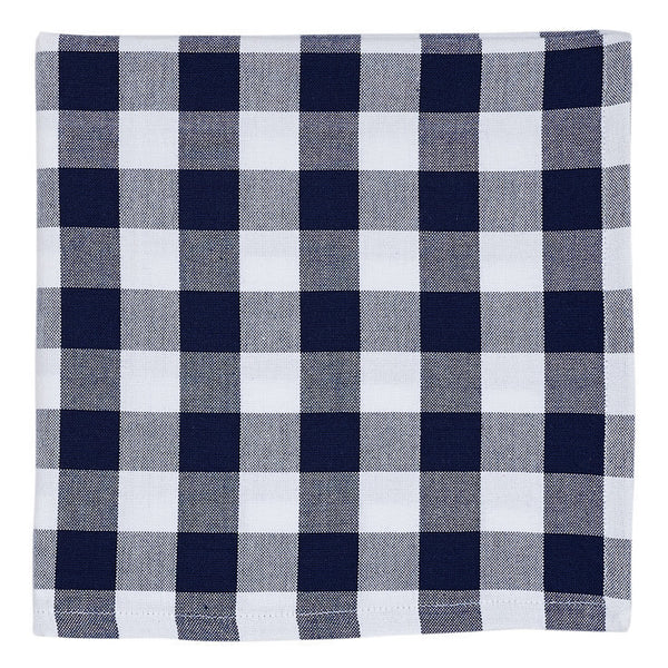 Nautical & White Checkers Napkin - DII Design Imports