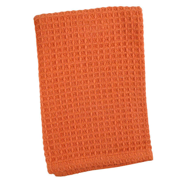 Wholesale Paprika Waffle Dishcloths - Set of 2 - DII Design Imports