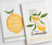 Lemon Squeezy Embellished Dishtowel - DII Design Imports