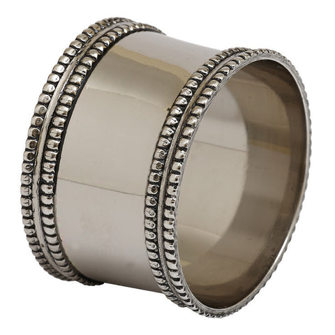 Wholesale - Silver Band Napkin Ring - DII Design Imports - 1