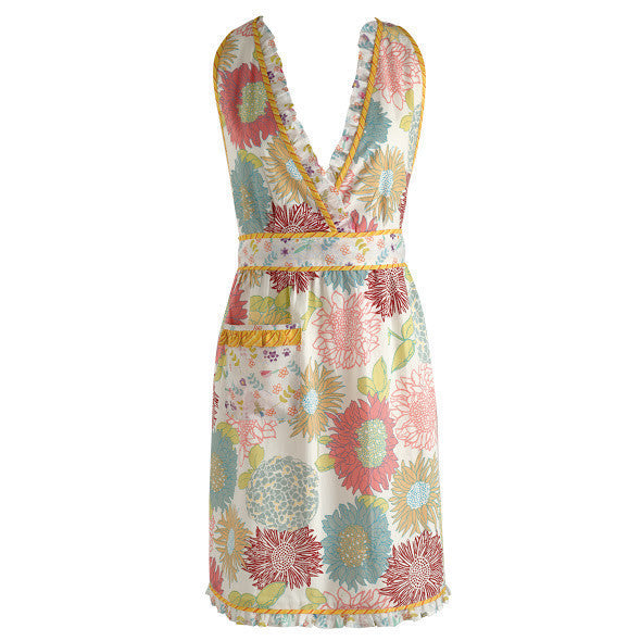 Wholesale Summer Blooms Vintage Apron - DII Design Imports
