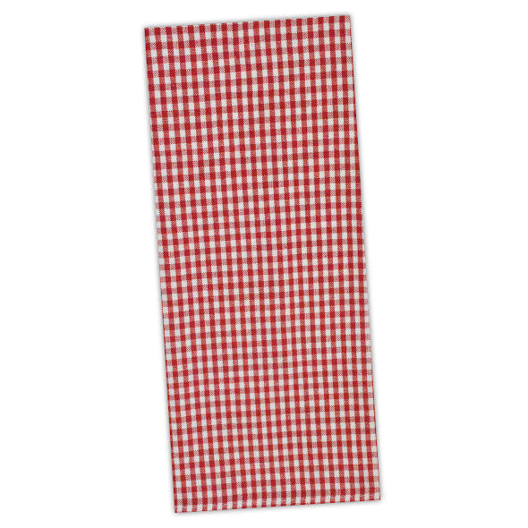 Tango Red Chef Stripe Dishtowel - DII Design Imports