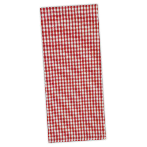 Wholesale - Tango Red Chef Stripe Dishtowel - DII Design Imports