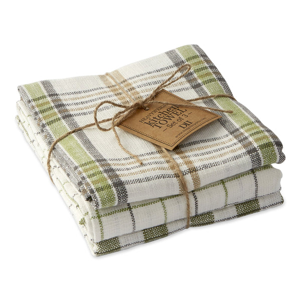 Green House Dishtowel Set of 3 - DII Design Imports