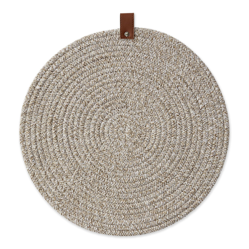 Earth Tan Round Placemat - DII Design Imports