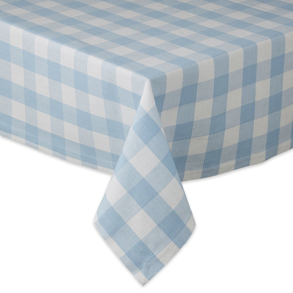 EASTER EGG CHECKS TABLECLOTH - 60 X 84""