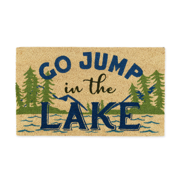 Jump in the Lake Doormat - DII Design Imports