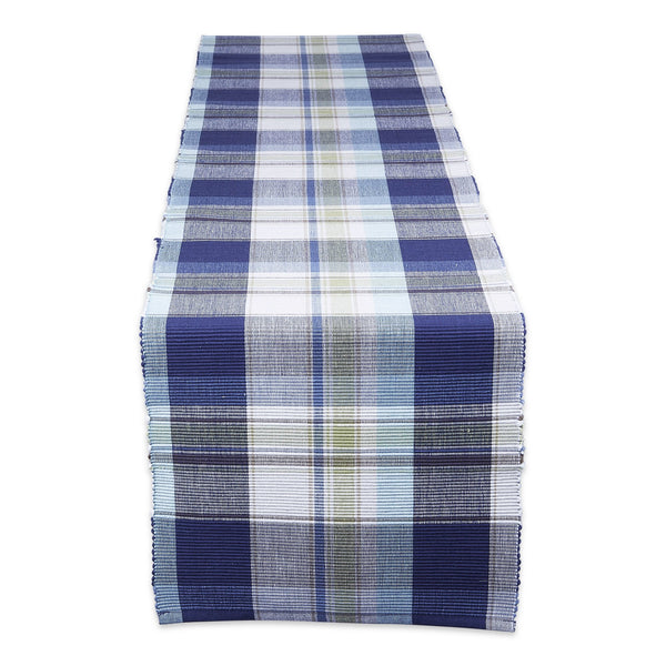 Lakeside Plaid Table Runner - DII Design Imports