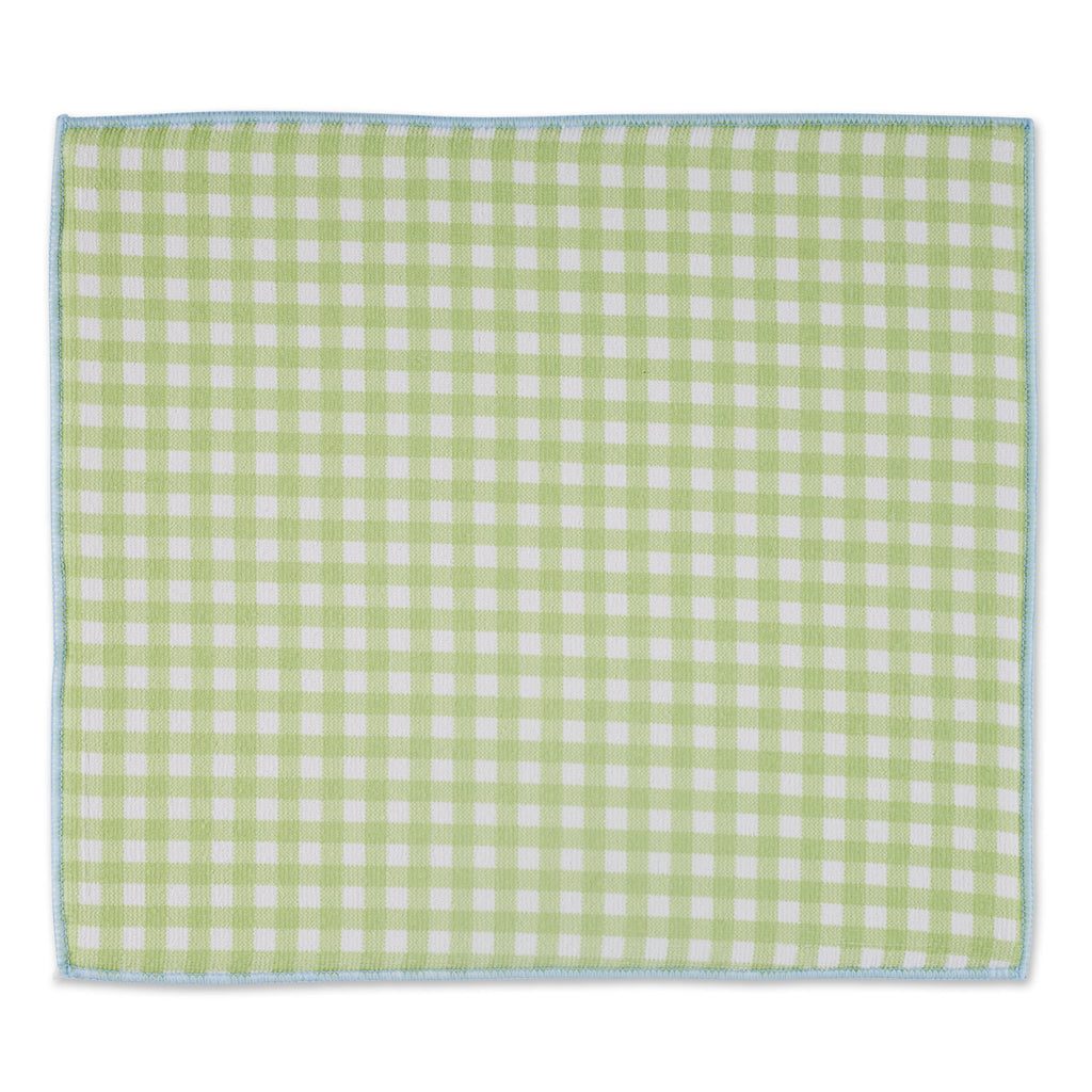 SPRING CHECKS DISH DRYING MAT