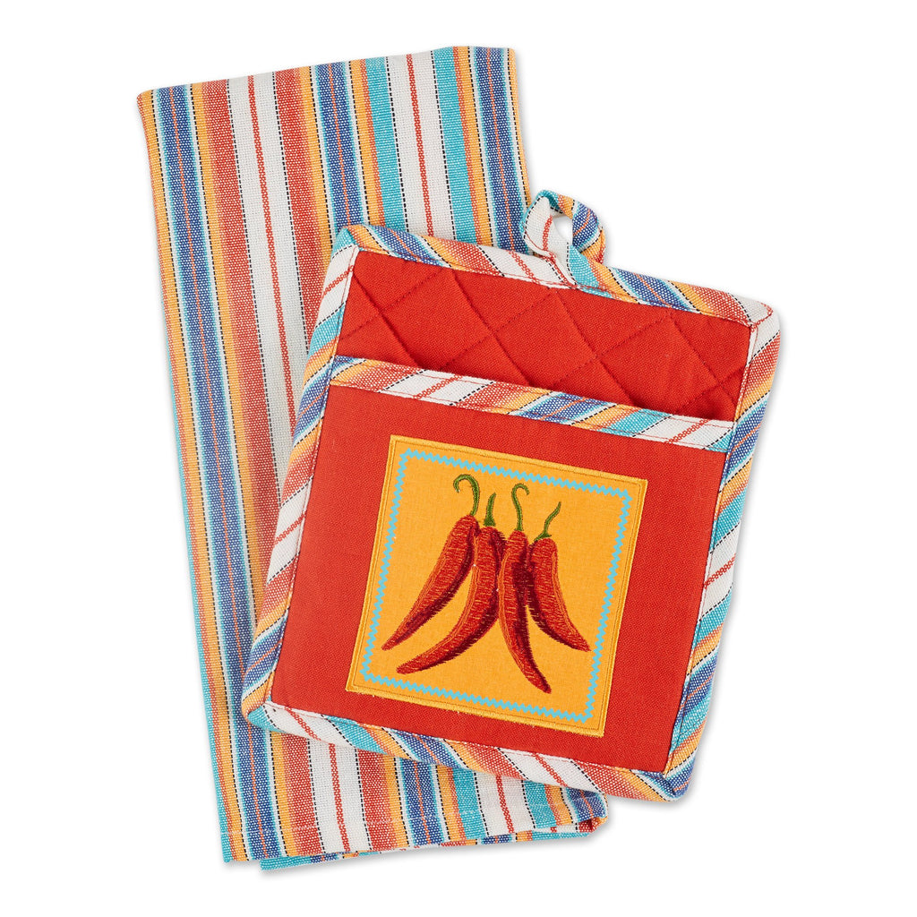 PICANTE CHILIS POTHOLDER GIFT SET