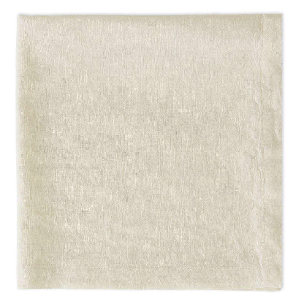CREAM SUGAR LINEN NAPKIN