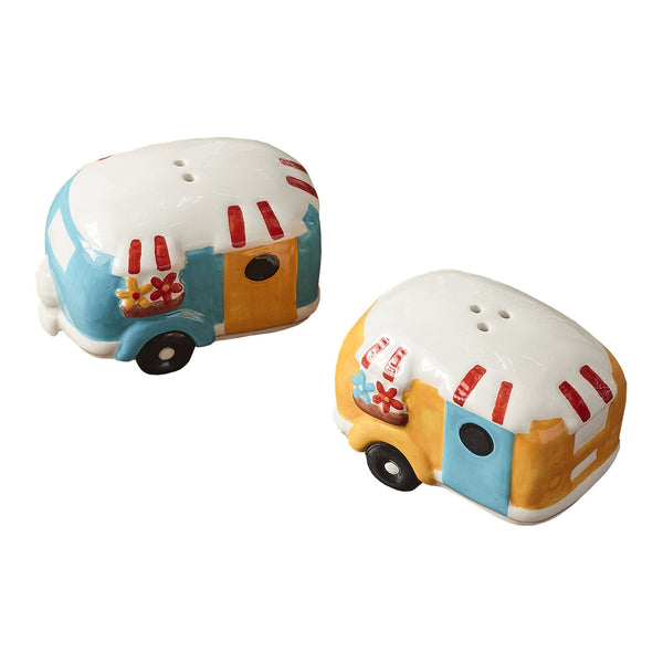 Camper Salt & Pepper Set