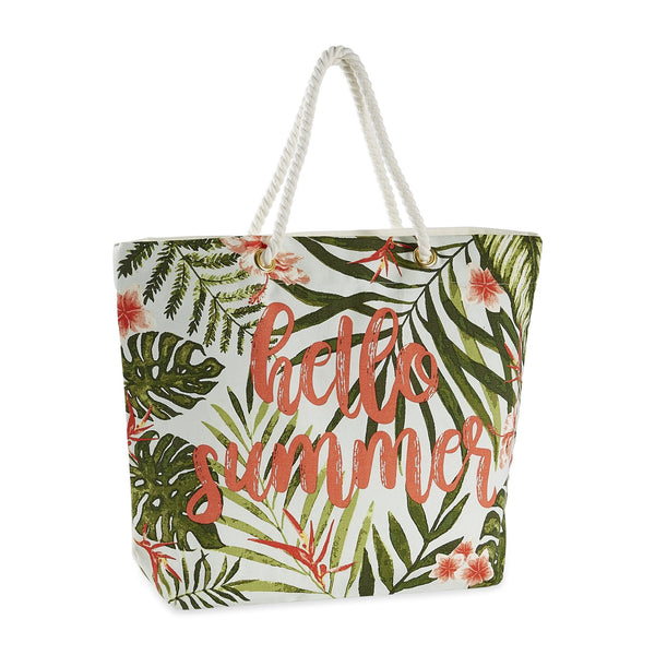 Hello Summer Beach Tote - DII Design Imports