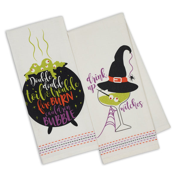 Witchy Brew Printed Dishtowels