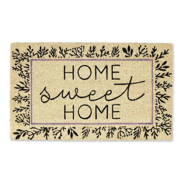 BOTANICAL SWEET HOME DOORMAT