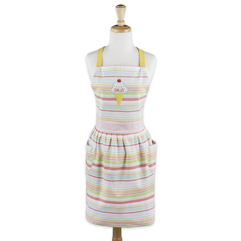 Summer Chillin' Printed Apron - DII Design Imports