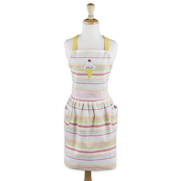 Summer Chillin' Printed Apron